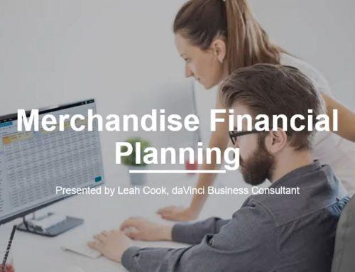 Video Series: Merchandise Financial Planning 101